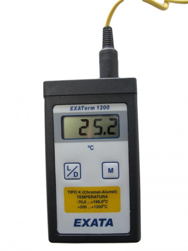 Medidor port til de temperatura produtos exata comercial - Medidor de temperatura ...